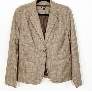 Apt. 9 Camel Blazer Jacket Size 14